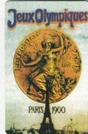 USA - Paris 1900 Olympics, US Promotion Prepaid Card, Tirage 2.000, Used - Etats-Unis