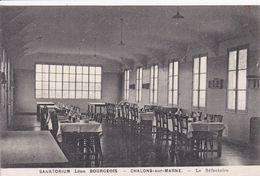 51 CHALONS Sur MARNE Sanatorium Léon Bourgeois Le Réfectoire - Châlons-sur-Marne