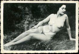 NUDISM EROTICA SEX EROTIC NUDE WOMAN NACKT FEMME NUDISME  FRAU NU NAKED EROTIQUE NUE EROTIK SEXY PHOTO FOTO NK335 - Pin-up