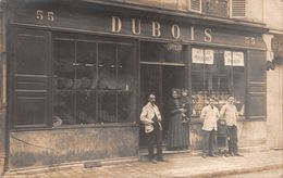 CPA - 77, CHELLES,  Coiffeur,  DUBOIS, 55 Rue Gambetta,  Patron & Famille Et Employe, Carte Photo, 1911 - Chelles