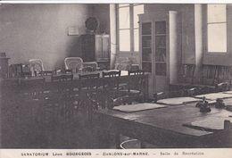 51 CHALONS Sur MARNE Sanatorium Léon Bourgeois Salle De Récréation - Châlons-sur-Marne