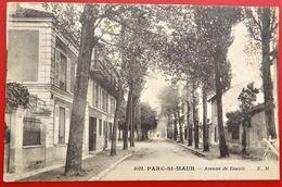 Cpa 94 PARC SAINT MAUR Avenue De Beaute - France