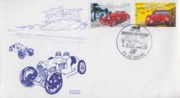 Enveloppe  FRANCE   24  HEURES  DU  MANS   2000 - Automobile