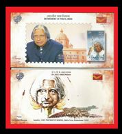 079.INDIA 2015 STAMP BOOKLET PRESIDENT A.P.J.ABDUL KALAM  ISSUED BY INDIA POST  .MNH - India