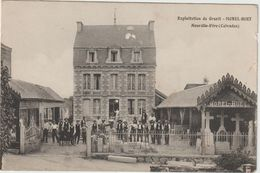 Calvados :  NEUVILLE -  VIRE :  Exploitation  De  Granit Morel-Huet - Other Municipalities
