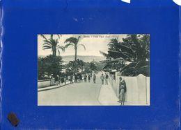 ##(DAN207)- Libia - Derna -Viale Duca Degli Abruzzi - Usata 1936 - Libya