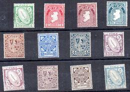 Serie Nº 40/51 Irlanda - 1922-37 Stato Libero D'Irlanda