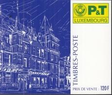 LUXEMBURG  8x 1385 Im Markenheftchen, Postfrisch **,  100. Geburtstag Von Großherzogin Charlotte, 1996 - Carnets