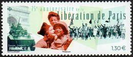 France N° 5341 ** Libération De Paris (Anniversaire Le 75 éme) - France