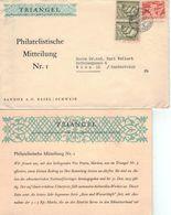 [A5] Triangel - Zeitschrift Für Medizinische Wissenschaften - Sandoz Basel [Sandoz-Katastrophe Rhein] - Pharmazie