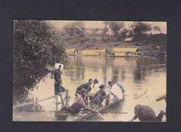 Colonies Francaises Indochine Indo Chine Cochinchine Condamnes Indigenes Sous La Surveillance Des Miliciens 42418 - Vietnam