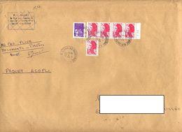 Lettre Cachet Nanterre Sur Gandon Carnet - Marcophilie (Lettres)