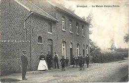 Lovenjoul - La Maison Peeters Frères (Kruidenierswinkel In Brand Gestoken Door Duitsers Augustus 1914) - Bierbeek