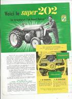 Tracteur Super 202 Sfv - Agriculture
