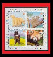 081. BHUTAN 1997 STAMP M/S KOALA BEAR, PANDA . MNH - Bhoutan