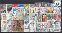 ESPAÑA 1981 Nº 2599/2643 AÑO COMPLETO USADO 40 SELLOS + 2 HB - Spanien