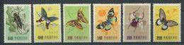 264 - FORMOSE 1958 - Yvert 249/54 - Papillon - Neuf ** (MNH) Sans Trace De Charniere - 1945-... République De Chine