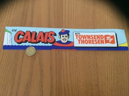 AUTOCOLLANT, Sticker VIA CALAIS WITH TOWNSEND THORESEN (TT)» (Ferry) - Pegatinas