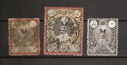 IRAN. 3 Old Stamps. Used. - Irán