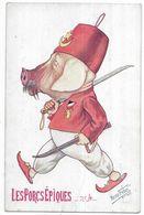 Illustrateur René Frébet Les Porcs Epiques N° 4 - Ilustradores & Fotógrafos