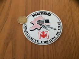 AUTOCOLLANT, Sticker «MÉTRO VAL - COMMUNAUTE URBAINE DE LILLE (59)» - Pegatinas