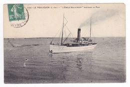44 Le Pouliguen N°2102 Le Bateau De Promenade EMILE SOLACROUP Rentrant Au Port En 1923 Phototypie Vassellier Nantes - Le Pouliguen