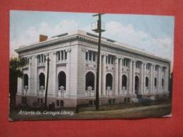 Carnegie Library  Georgia > Atlanta.   Ref 4197- - Atlanta