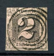 Thurn Und Taxis: 2 Sgr. MiNr. 5 1852-1858 Gestempelt / Used / Oblitéré - Thurn Und Taxis