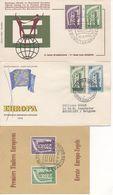 Europa 1956 - FDC