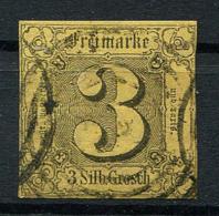 Thurn Und Taxis: 3 Sgr. MiNr. 6 1852-1858 Gestempelt / Used / Oblitéré - Thurn Und Taxis