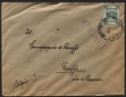 ISRAEL PALESTINE - Old Cover Printed Matter Jerusalem To Belgium (x172) - Palestina