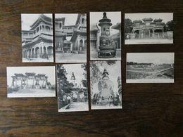 CHINE CHINA  8 Cartes Postales Anciennes Temple Des Lamas, Jaune Et De La Terre  Carte Neuves - China