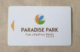 Llave Magnetica De Hotel: Paradise Park - Autres Collections