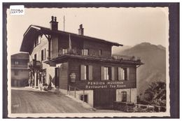DISTRICT D'AIGLE - LES POSSES - PENSION MUVERAN - TB - VD Vaud