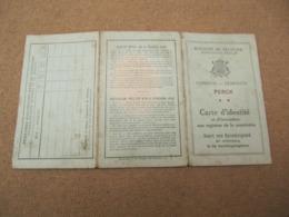 Steenokkerzeel - Perk - Kaart Van Eenzelvigheid 1919 - Slegers Isabella - Steenokkerzeel