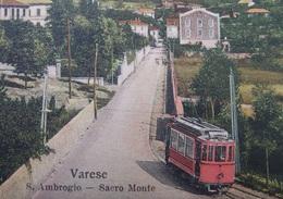 ITALY ITALIA Cartolina 1911 VARESE - S.Ambrogio Spero Monte - Lombardia - Varese