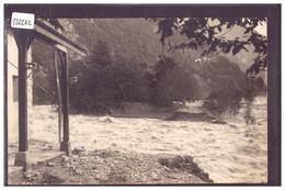 DISTRICT D'AIGLE - ST MAURICE - CATASTROPHE DU BOIS NOIR LE 26 SEPTEMBRE 1926 - LE RHONE EN CRUE - TB - VD Vaud
