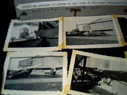 Aviation Archives Secrétariat à L'aviation Civile  Photos Aéronefs Accidentes Sur Voiture à Evreux-fauvillle 7:11:1960 - Aviation