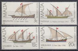 MALTA 669-672,unused,ships - Malta