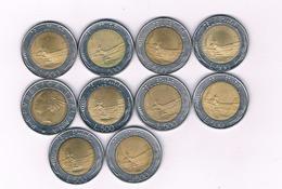 500 LIRE 10X    ITALIE / 5395// - 1946-… : République