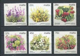 264 - MALTE 2003 - Yvert 1222/27 - Fleur - Neuf ** (MNH) Sans Trace De Charniere - Malta