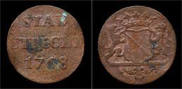 Netherlands Utrecht Duit 1768 - [ 1] …-1795 : Période Ancienne