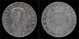 Vittorio Emanuele II 5 Lire 1877R - 1861-1946 : Royaume