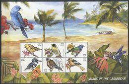 264 - NEVIS 1999 - Yvert 1229/34 En Feuille - Oiseau - Neuf ** (MNH) Sans Trace De Charniere - St.Kitts And Nevis ( 1983-...)