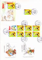 Astérix Oblitération 1er Jour Journée Du Timbre 06/03/1999 Amiens (A4-20) - Bandes Dessinées