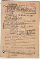Toulon, Var/ Tarn, Albi , Fascicule De Mobilisation 1938 - Documents Historiques