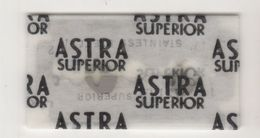ASTRA SUPERIOR  RAZOR  BLADE - Lamette Da Barba