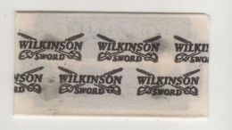 WILKINSON SWORD  RAZOR  BLADE - Lames De Rasoir