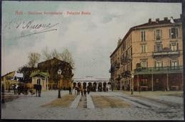ITALY ITALIA Cartolina 1909 ASTI Stazione Ferroviaria - Piemonte - Asti