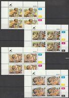 Ciskei - 1989 - Folklore - Little Jackal And The Lion - Complete Set Control Blocks - Ciskei